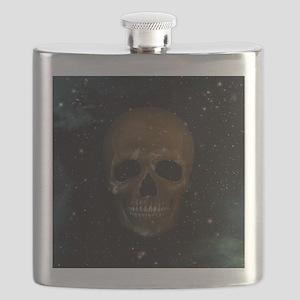 Space Skull Flask