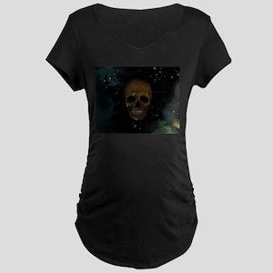 Space Skull Maternity T-Shirt