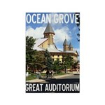 Great Auditorium Rectangle Magnet (100 Magnets