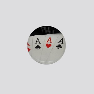 4 Aces Mini Button