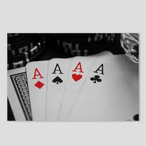 4 Aces Postcards (Package of 8)