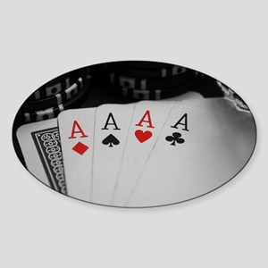 4 Aces Sticker