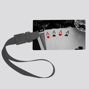 4 Aces Luggage Tag