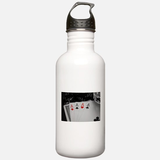 4 Aces Water Bottle