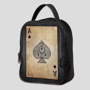 Ace Of Spades Neoprene Lunch Bag