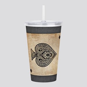 Ace Of Spades Acrylic Double-wall Tumbler