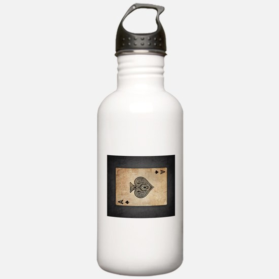 Ace Of Spades Water Bottle