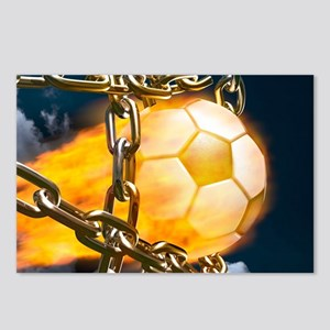Ball Breaking Chain Net Postcards (Package of 8)