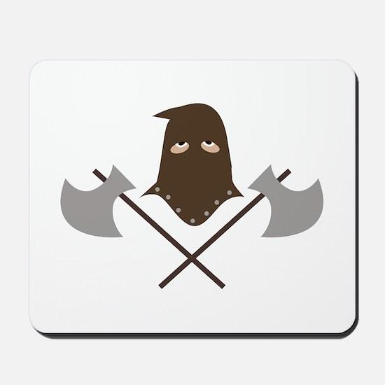 Executioner & Axes Mousepad