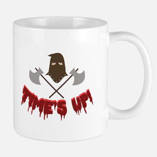 Time's Up! Mugs