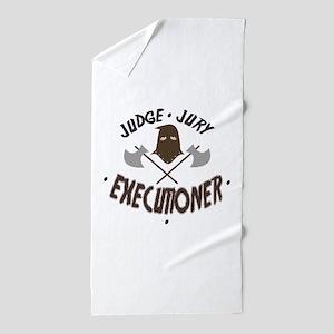 Executioner Beach Towel