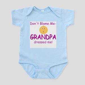 Blame Grandpa 3 Infant Bodysuit