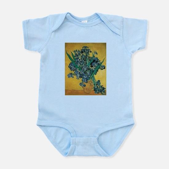Irises by Vincent van Gogh Body Suit