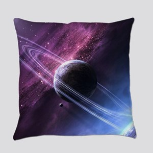 Planet Ring System Everyday Pillow