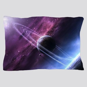Planet Ring System Pillow Case