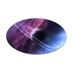 Planet Ring System Wall Decal