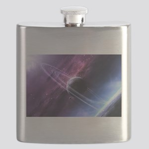 Planet Ring System Flask