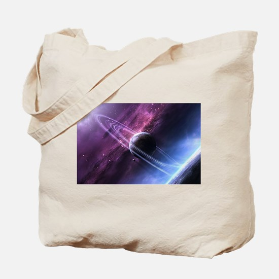Planet Ring System Tote Bag