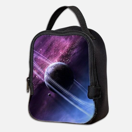 Planet Ring System Neoprene Lunch Bag