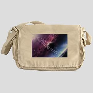 Planet Ring System Messenger Bag