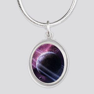 Planet Ring System Necklaces