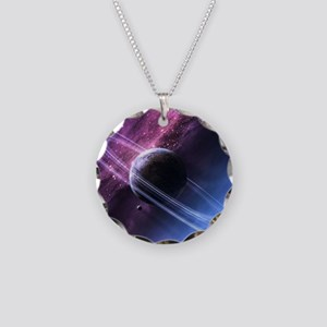 Planet Ring System Necklace