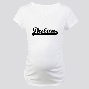 Dylan Classic Retro Name Design Maternity T-Shirt