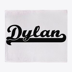 Dylan Classic Retro Name Design Throw Blanket