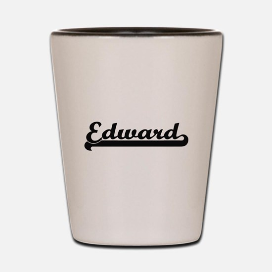 Edward Classic Retro Name Design Shot Glass