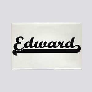 Edward Classic Retro Name Design Magnets