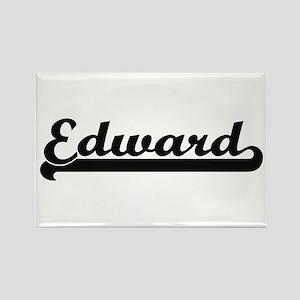 Edward Classic Retro Name Design Magnets