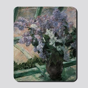 Lilacs by Mary Cassatt Mousepad