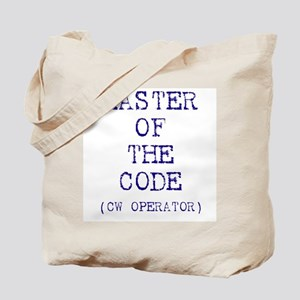 Master Of The Code (CW Operat Tote Bag