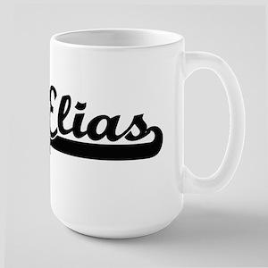 Elias Classic Retro Name Design Mugs