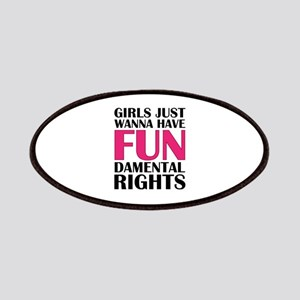 Girls Just Wanna Have Fun Patches