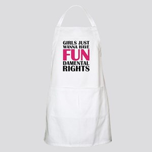 Girls Just Wanna Have Fun Apron