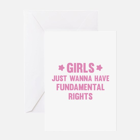Girls Just Wanna Have Fun Greeting Card