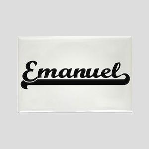 Emanuel Classic Retro Name Design Magnets