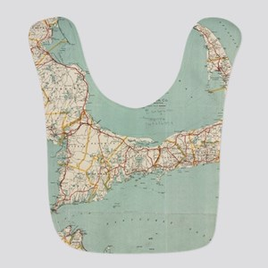 Vintage Map of Cape Cod (1917) Bib