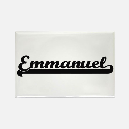 Emmanuel Classic Retro Name Design Magnets