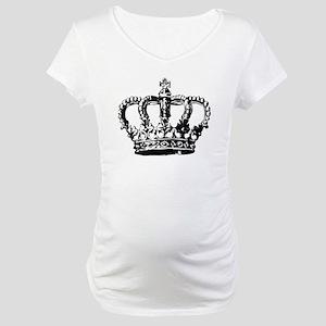 Black Crown Maternity T-Shirt