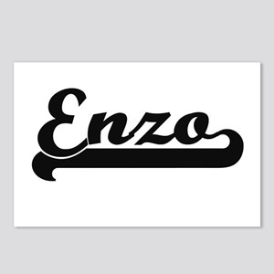 Enzo Classic Retro Name D Postcards (Package of 8)