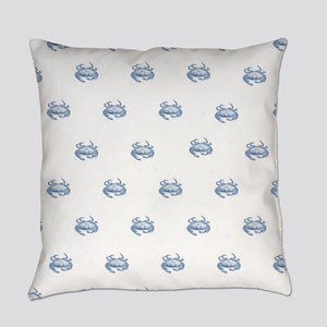 Blue Crab Everyday Pillow
