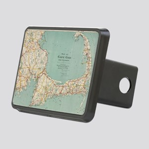 Vintage Map of Cape Cod (1 Rectangular Hitch Cover