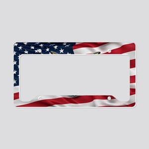 Great seal of the USA with Am License Plate Holder
