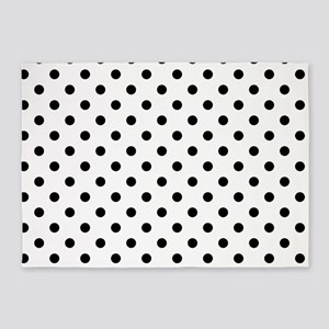 Girls just wanna have dots 5'x7'Area Rug