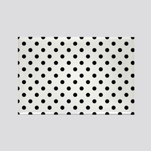 Girls just wanna have dots Rectangle Magnet