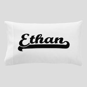 Ethan Classic Retro Name Design Pillow Case