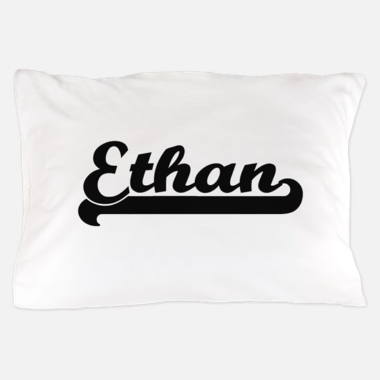 Ethan Classic Retro Name Design Pillow Case