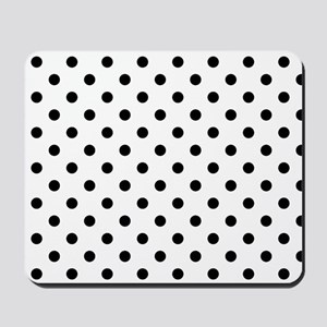 Girls just wanna have dots Mousepad